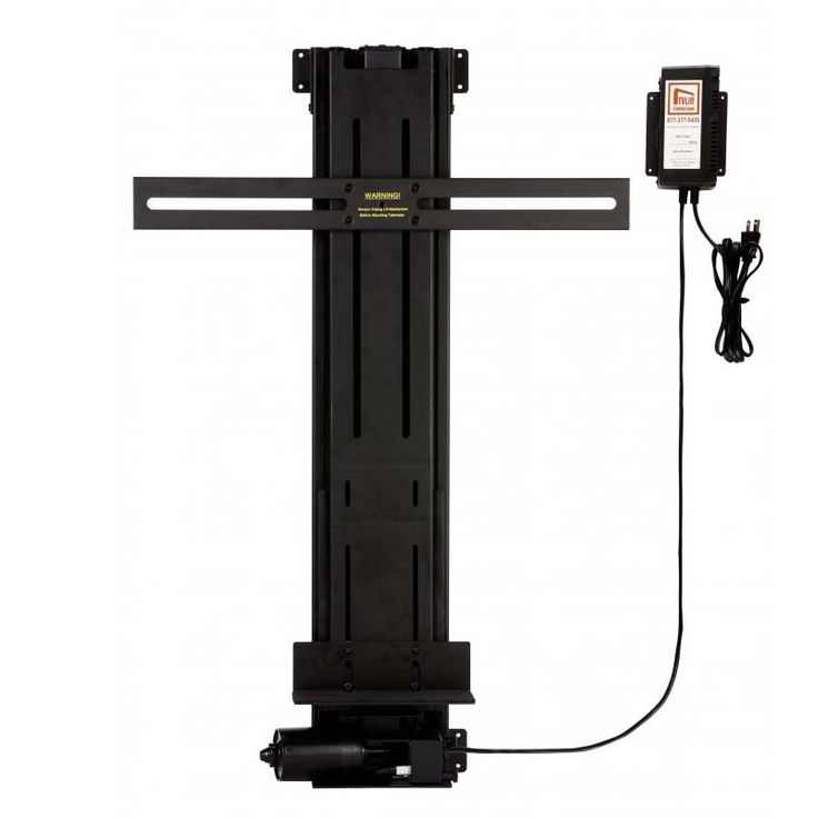View a larger image of TV Lift Cabinet Lifts 32.5 inch Tall Linear Actuator TV Lift (Black) 3250LA.