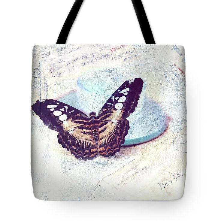 Jenny Rainbow Fine Art Photography Tote Bag featuring the photograph Morning Messenger by Jenny Rainbow