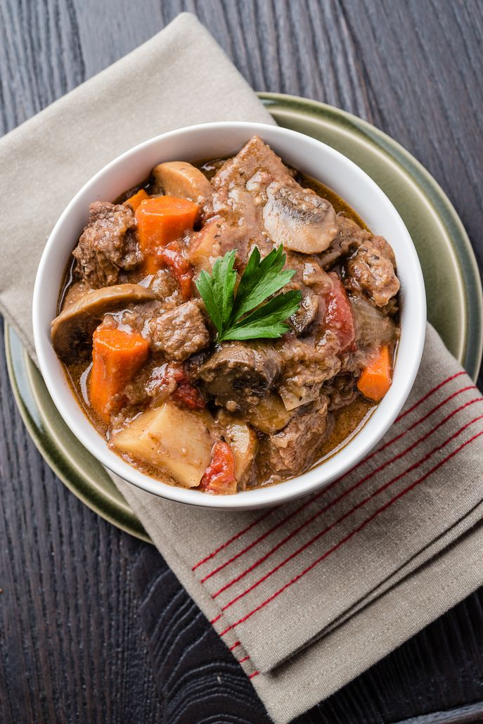 Slow Cooker Beef Stew from Everyday Good Thinking, the official blog of @hamiltonbeach