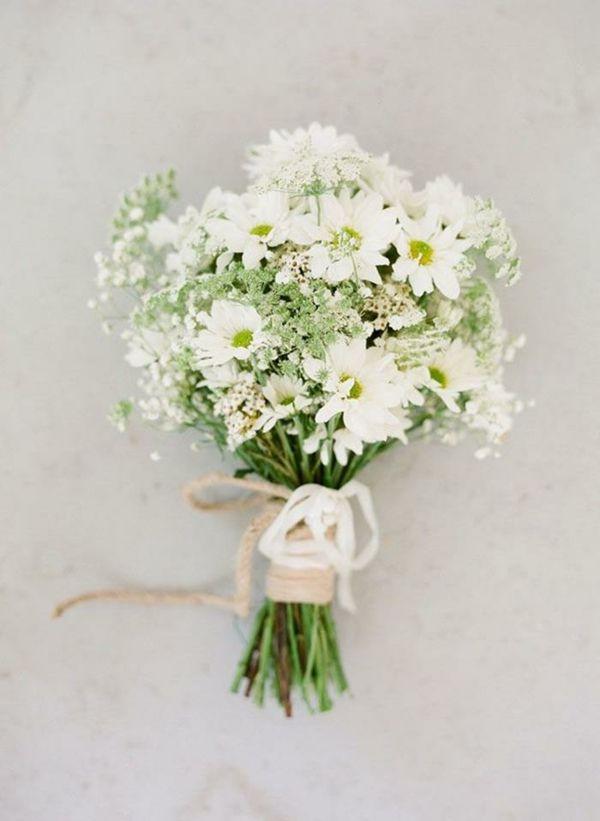Hochzeitsblumen frisch Coole Brautsträuße Bilder blüten