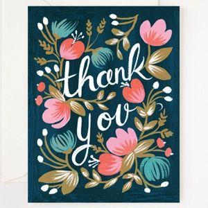 Image of Felicitación Thank You - Azul
