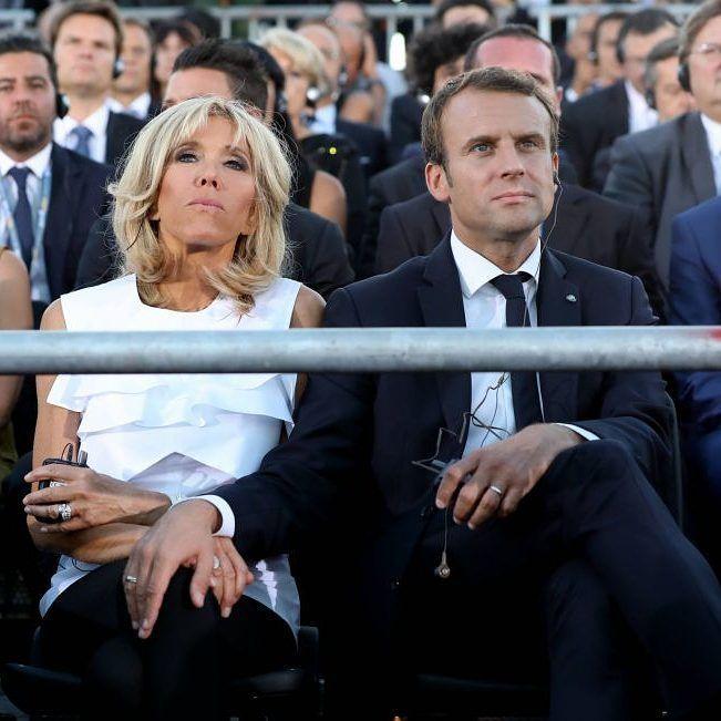 "Polubienia: 55, komentarze: 2 – Emmanuel ❤ Brigitte (@le_couple_macron) na Instagramie: ""❤❤❤ 《 On a besoin d'être ensemble, c'est notre oxygène mutuel 》 #brigittemacron #emmanuelmacron…"""