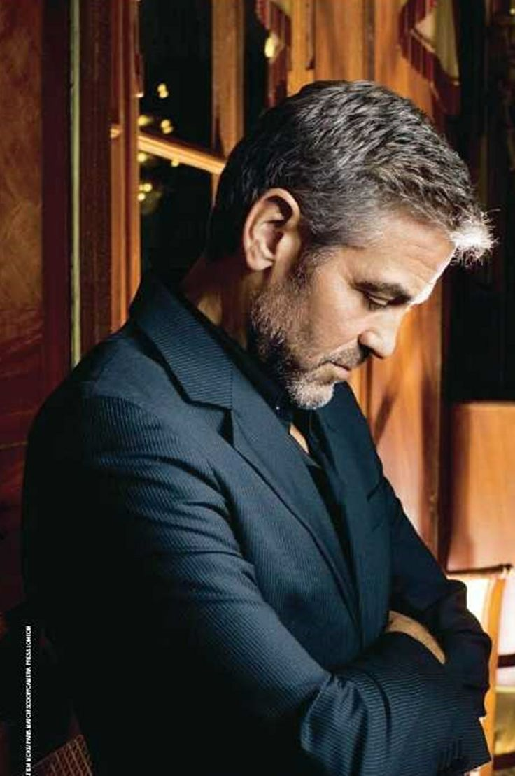 George Clooney.  I just told him I am married. He's very upset.