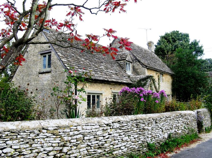 Cottage in Bibury in the Cotswolds