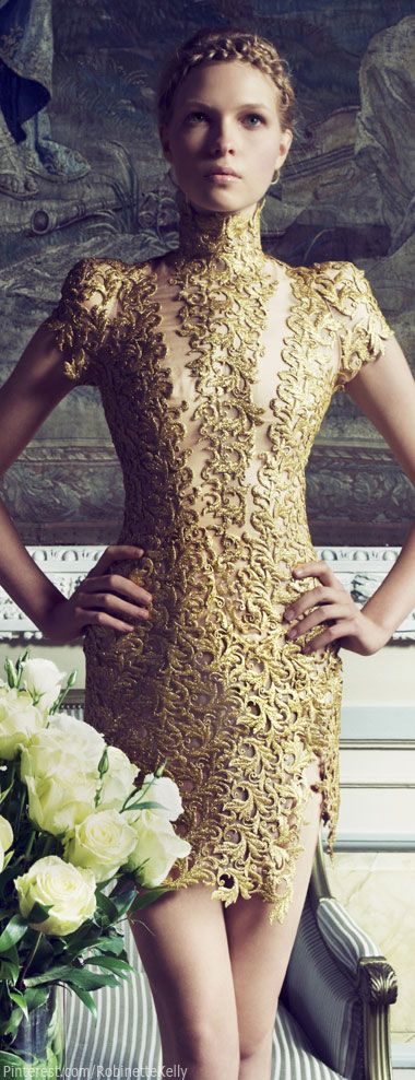 Alexandre Vauthier Haute Couture | Amanda Nimmo in Haute Couture for Fashion Magazine