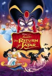 """Aladdin - The Return of Jafar        Aladdin - The Return of Jafar      Aladin 2 - Povratak Džafara  Ocena:  5.90  Žanr:  Animation Adventure Family Fantasy Musical Romance  """"The Aladdin adventure continues...""""Aladdin is adjusting to his new life as part of the upper crust. He and Princess Jasmine may not be married yet but the pressures of palace society have already begun. On top of that Iago (the parrot pet of Sultan's ex-vizir turned genie Jafar) appears asking for help and no one is…"""