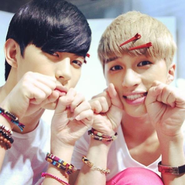 Vixx's Hongbin and Ken ♥️ Starlight!!
