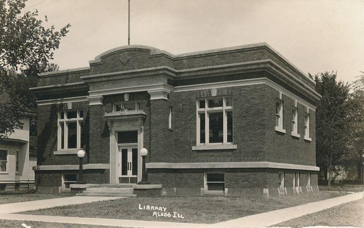 Mercer County Carnegie Library  Aledo, Illinois