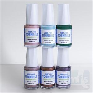 Just For Toenails Medicated Nail Polish treats fungal nail infections while keep