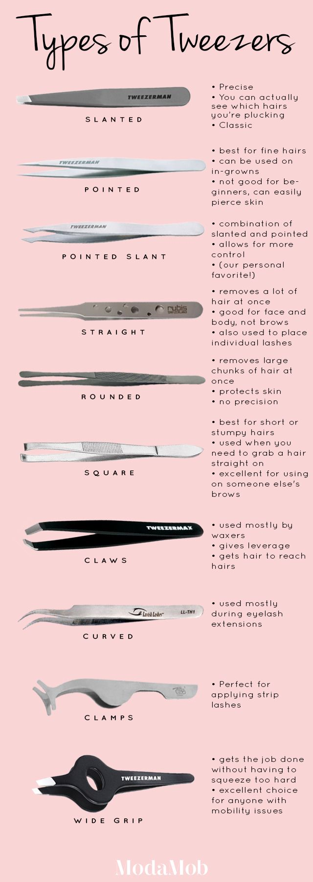 Are You Using the Right Type of Tweezers? | The Savory | Modamob