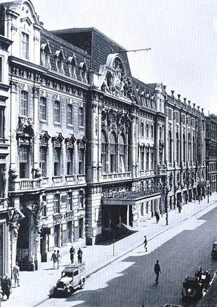 Berlin 1943 Metropol-Theater in der Behrenstrasse 55