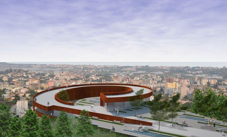 anamur atattepe mimari proje yarışması