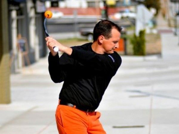 For Dad: Orange Whip Golf Trainer Review - Learn How To Swing a Golf Club Correctly.