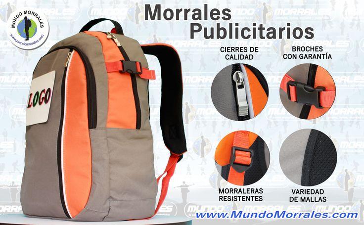 Morrales con colores de su MARCA /  Backpacks with your brand colors.