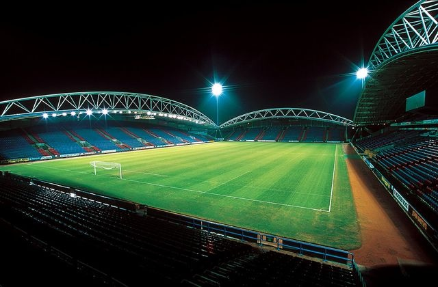 Galpharm Football Stadium by Keith Moss http://keithmossphotography.co.uk #keithmoss #photography #commercial #football