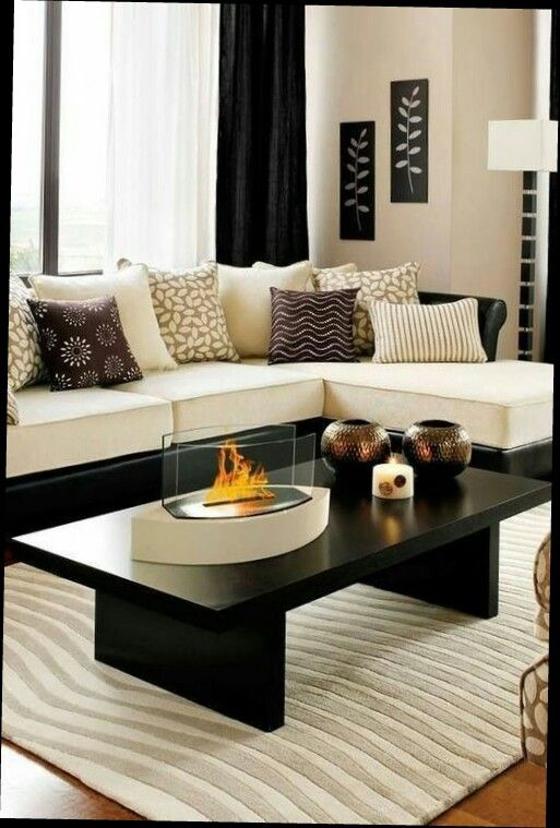 1000 ideas about salon noir on pinterest salon noir et. Black Bedroom Furniture Sets. Home Design Ideas