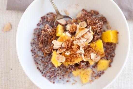 Breakfast quinoa recipes