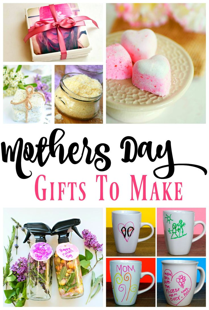 DIY Mothers Day Gift Ideas - cute and clever gifts to make.     #mothersday #mothersdaygift #giftideas #diygifts #craftideas #gift #giftidea