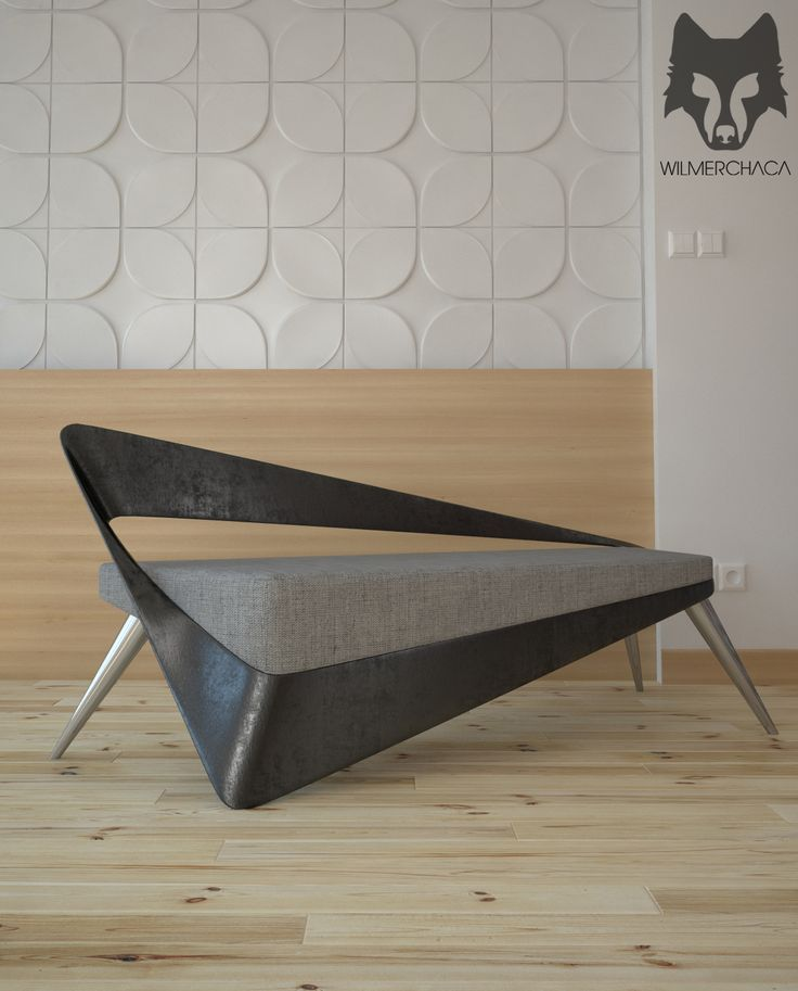Alpenglow sofa by Wilmer Chaca