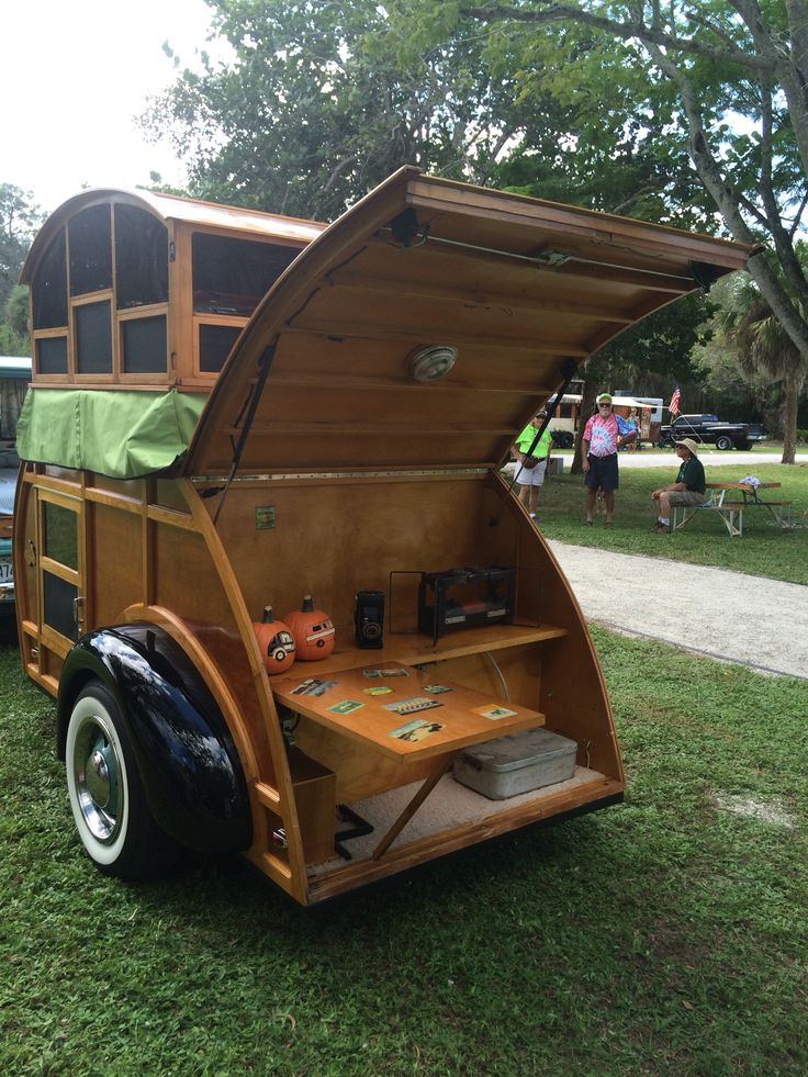 Teardrop Trailer With Bathroom: 17 Best Images About Woody Teardrop/Pop-up Camper On