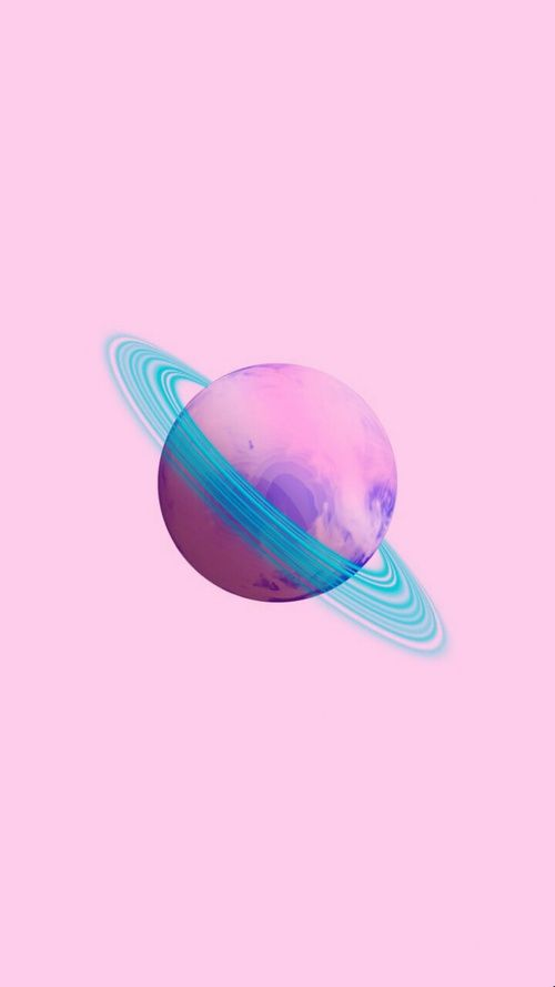 wallpaper, background, and pink image saturno mi planeta estelar
