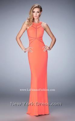 Orange Prom Dresses Short Open Back