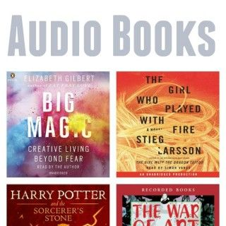 How Audible Books Keep My Sane and My Favorite Audio Books