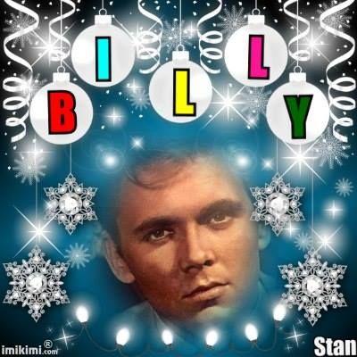 Billy Fury by Stanley Crickett.