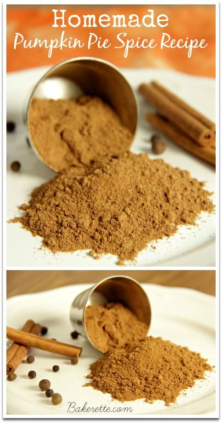 Make your own pumpkin pie spice blend with this simple and delicious homemade recipe. Bakerette.com