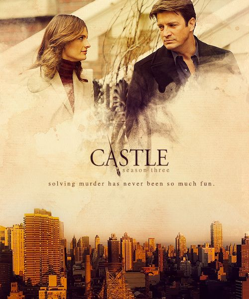 Coups de cœur 03 Castle . Beauty and the Beast - article photogeniques.fr [fanart poster, Nathan Fillion, Stana Katic, Richard Castle, Kate Beckett, Caskett]