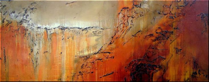 Modern abstract art contemporary modern abstract for Contemporary oil paintings