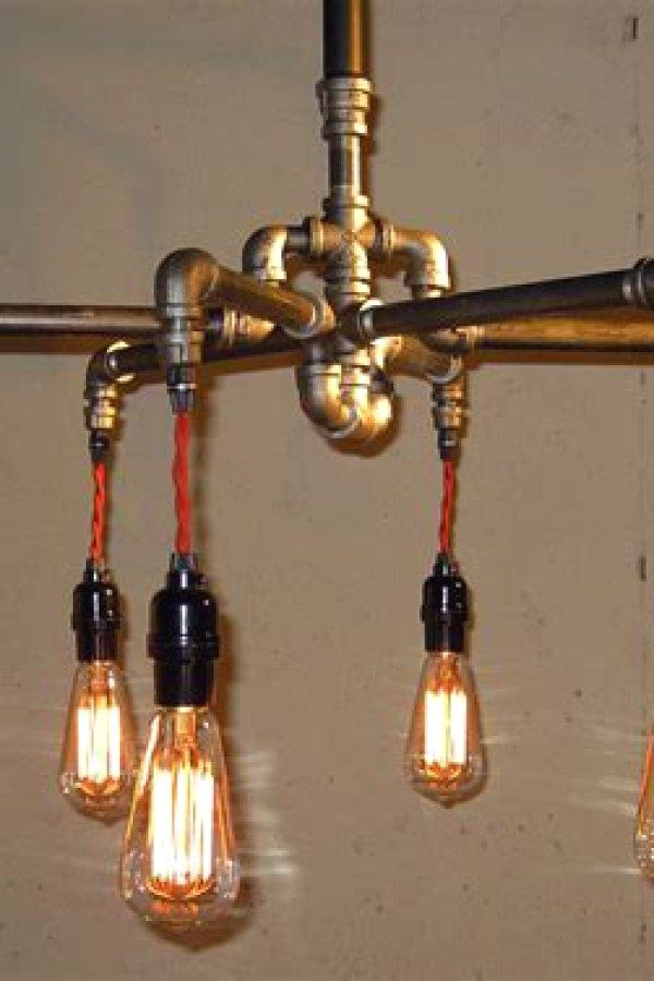 10 Beautiful Industrial Lighting Designs To Complete Your Brick Steel City Digs Industrial Light Fixtures Rustic Industrial Lighting Industrial Lighting