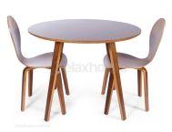 Walnit  dining table replica mid century danish
