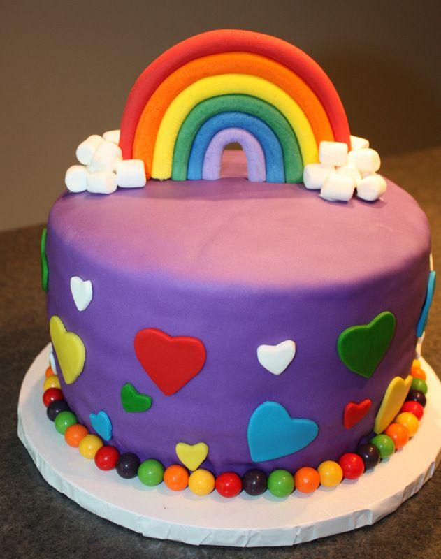 Wooloo | Gâteau arc-en-ciel