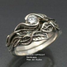 thinking outside the box unique bridal jewelry ideas - Elvish Wedding Rings