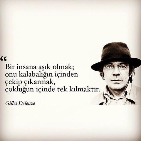 * Gilles Deluze