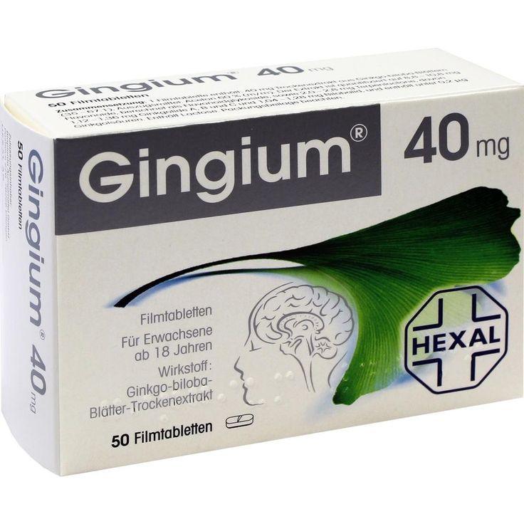GINGIUM Filmtabletten:   Packungsinhalt: 50 St Filmtabletten PZN: 03910205 Hersteller: Hexal AG Preis: 7,92 EUR inkl. 19 % MwSt. zzgl.…
