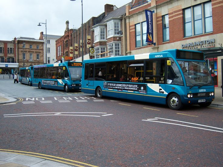 Arriva buses in Darlington