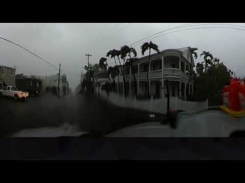 (adsbygoogle = window.adsbygoogle || []).push();       (adsbygoogle = window.adsbygoogle || []).push();   NEW: 360 video of Hurricane Irma from the Florida Keys, including storm surge and wind gusts over 100 mph in Key West, FL. The deepest surge in Key West arrived after the... #Weather #videos