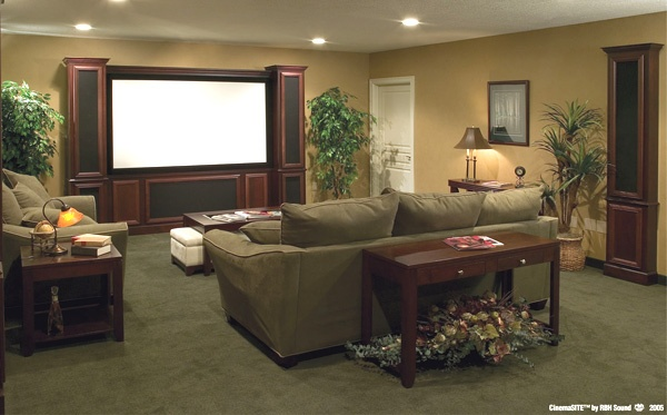 Media Room At DeStefano Remodeling In North Texas We Desire To Be Your Full