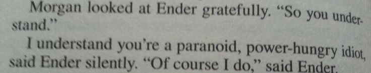 Ender's Shadow quote