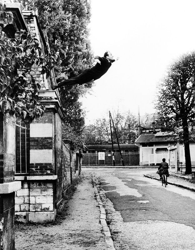 Yves Klein / Leap into the Void