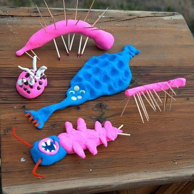 play dough bug sculptures no time for flash cards autos post