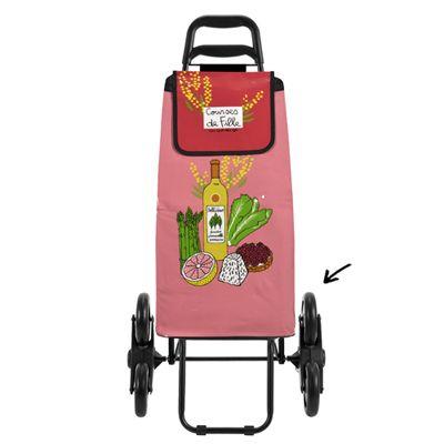 Chariot de courses à 6 roues Courses de Fille