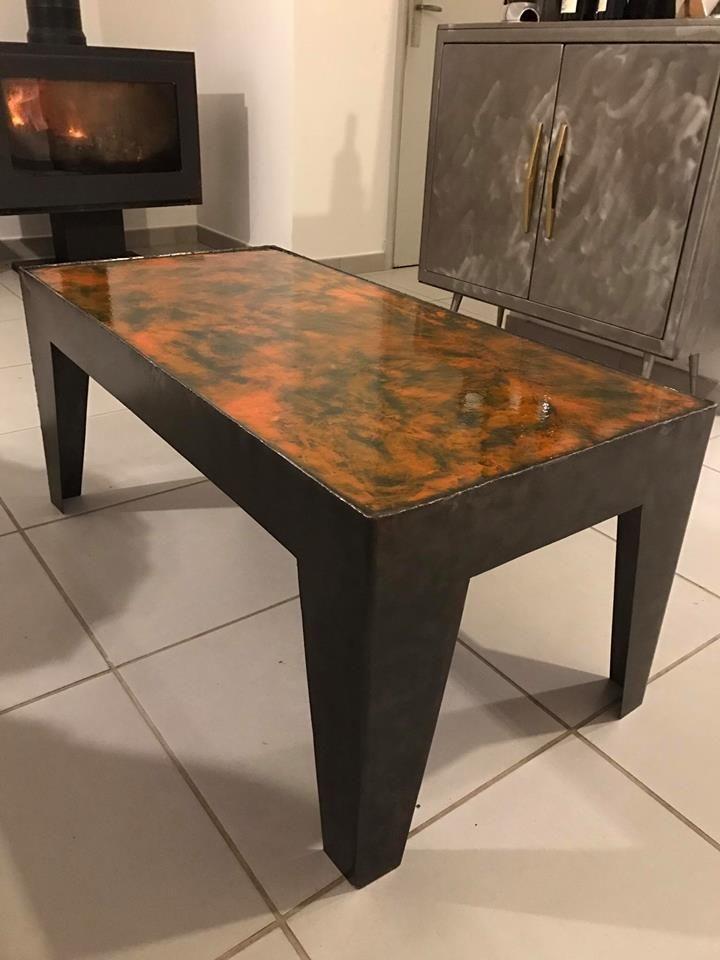 les 25 meilleures id es de la cat gorie dessus de table en epoxy sur pinterest dessus de table. Black Bedroom Furniture Sets. Home Design Ideas