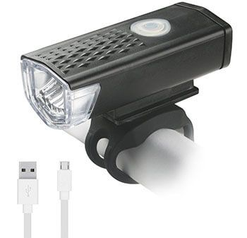 AMOTAIOS Super Bright USB Rechargeable Bike Headlight
