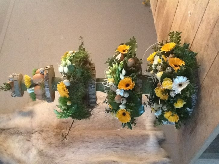 Workshop bloemschikken winter/kerst by edith