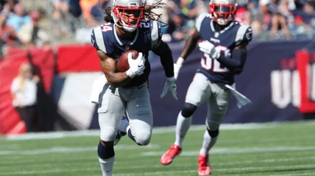 Gilmore and Rowe among Patriots inactives vs. Falcons  Stephon Gilmore runs with the ball after making an interception. Matthew J. Lee/Boston Globe  The Patriots have the Falcons in a Super Bowl LI rematch on Sunday night. Bill Belichick's group will indeed play without the administrations of cornerback Stephon Gilmore.  Alongside Gilmore kindred cornerback Eric Rowe has been precluded also. Linebackers Elandon Roberts and Harvey Langi (who is recuperating from a pile up) are likewise…