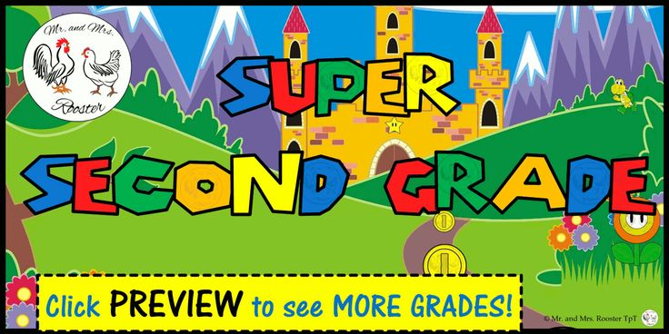Have a SUPER YEAR with this Mario-themed class poster! This will get students excited about coming to your classroom!