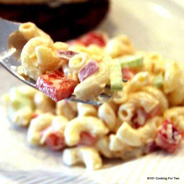 Homemade Macaroni Salad from 101 Cooking For Two